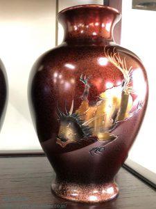 クタベ彫金花瓶